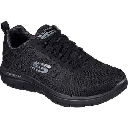 Skechers Siyah Erkek Ayakkabısı 52185-BBK Flex Advantage 2 0