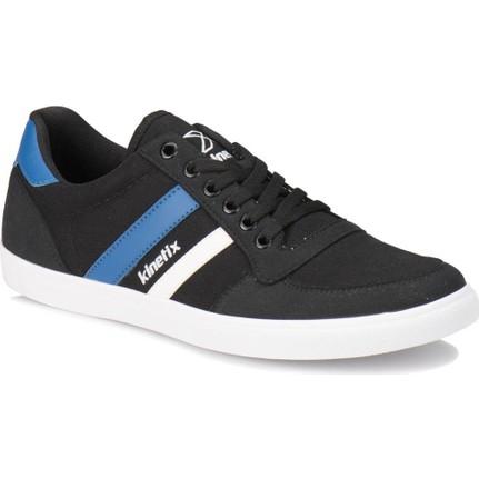 Kinetix Herus M Siyah Mavi Erkek Sneaker