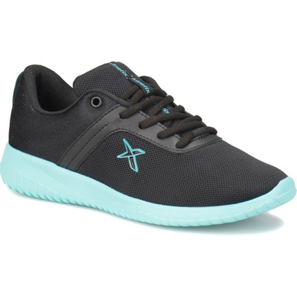 Kinetix Vera Siyah Turkuaz Kadın Sneaker Ayakkabı