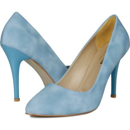 Loggalin 580115 031 423 Açık Mavi Kadın Stiletto