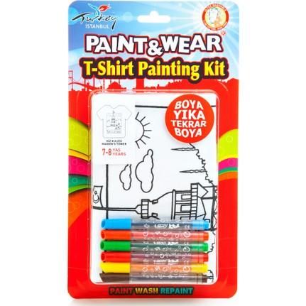 Paintwear Kız Kulesi Boyama T Shirt 4 6 Fiyatı