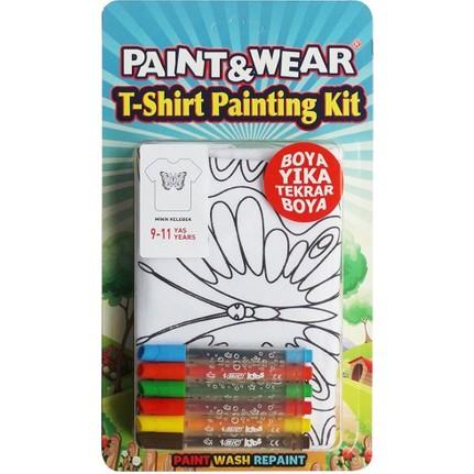Paint Wear Kelebek Boyama T Shirt 9 11 Fiyati Taksit Secenekleri