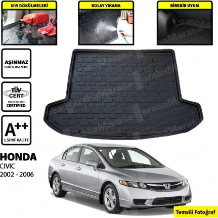 Honda Civic Sedan Bagaj Havuzu 2002 2006 Fiyatı