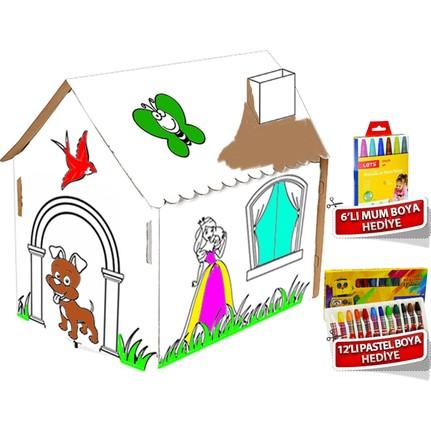 Trend Lisanslı Boyama Evi çocuk Oyun Evi Fiyatı