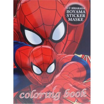 Partioutlet Spiderman Boyama Kitabi Fiyati Taksit Secenekleri