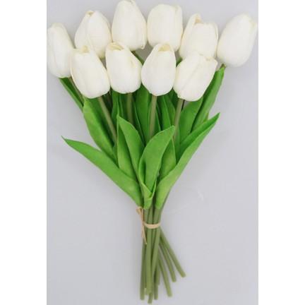 Yapay çiçek Deposu Yapay 10lu Islak Lale Buketi Gerçek Doku Fiyatı