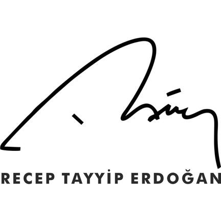 Stickermarket Recep Tayyip Erdoğan Imza Sticker Fiyatı