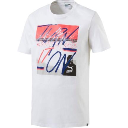 Fiyatı Tee 02 White Erkek Puma Photo T Shirt 572437 Brand SMVpUz