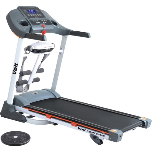 Voit Balance Plus 2,5HP Motorlu, Masajlı, Eğimli, Mekik Aparatlı, MP3 Girişli, Hoparlörlü Koşu Bandı + Twister