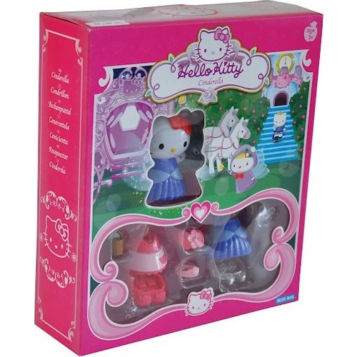 Blue-Box Hello Kitty Moda Butik Cinderella