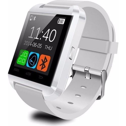 Case 4U U8 Beyaz iOS ve Android Uyumlu Akıllı Saat
