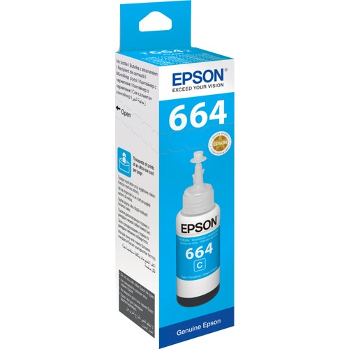 Epson T6642 L100/L200 70ml Mavi Mürekkep