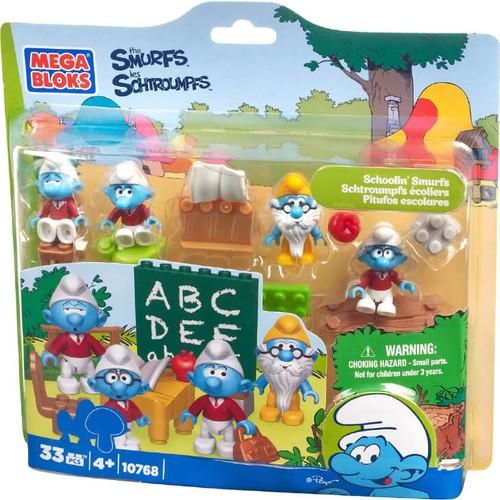 Mega Bloks Şirinler Okulda Oyun Seti