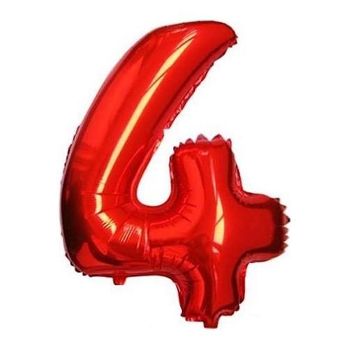 6a63440b1b4aa Partypark 4 Folyo Balon Kırmızı 70Cm Fiyatı - Taksit Seçenekleri