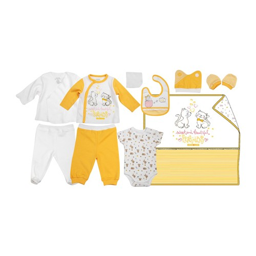 Zeyland Kız Çocuk Sari 10 Lu Hastane Cikisi K-42H602435