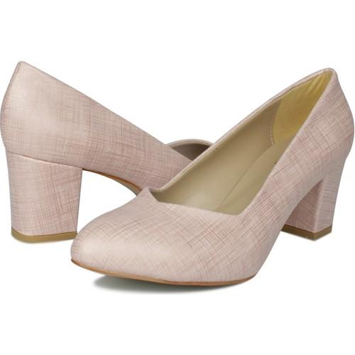 Loggalin 580711 031 7  Pembe     Kadın Topuklu Ayakkabı