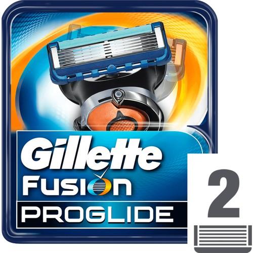 Gillette Fusion ProGlide Yedek Tıraş Bıçağı 2'li