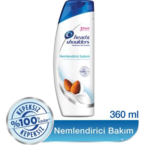 Head & Shoulders Şampuan Ekstra Nemlendirici Bakım 360 ml