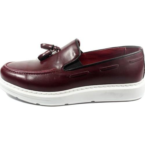 Commodore Sailor 267-301 Bordo Erkek Ayakkabı