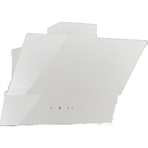 ICF 7035 Beyaz Dekoratif 60 Cm Cam Davlumbaz
