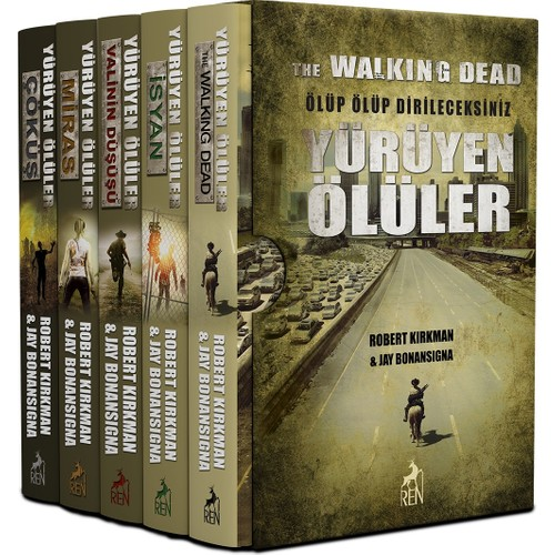 Yürüyen Ölüler - The Walking Dead Set (6 Kitap) - Robert Kirkman