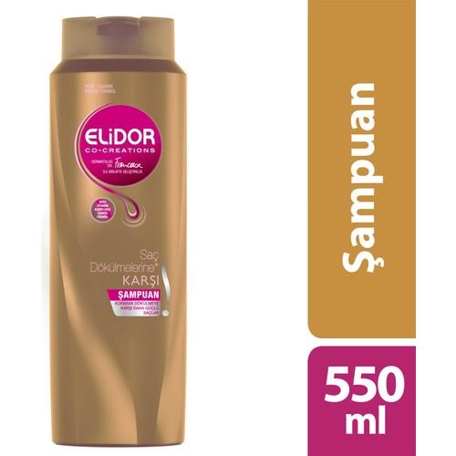 Elidor Şampuan Saç Dökülmelere Karşı Çözüm 550 ml