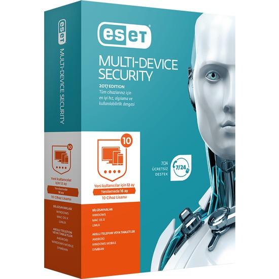 Eset Multi Device Security V11 - 10 Kullanıcı Kutu