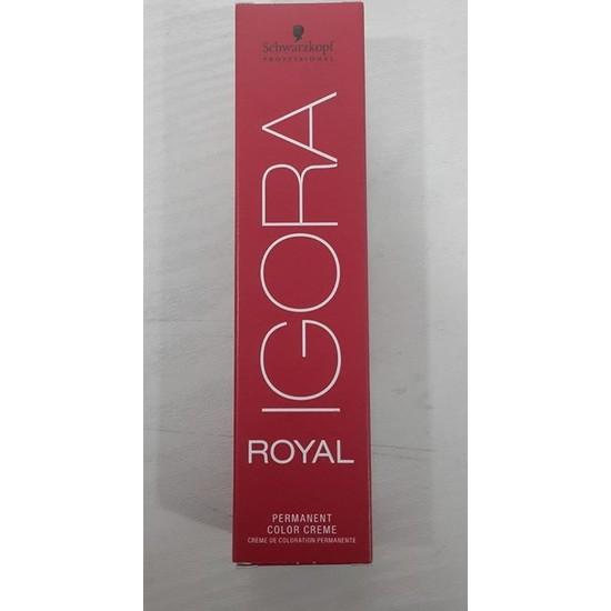Schwarzkopf Igora Royal Saç Boyası 6-0 Koyu kumral 60ml