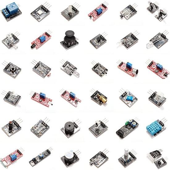 Güvenrob Arduino 37 Adet Sensör Kit Set (Keyes)