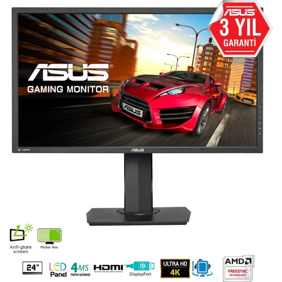 "Asus Gaming MG24UQ 23.6"" 4ms (Display+2xHDMI) UHD IPS Monitör"
