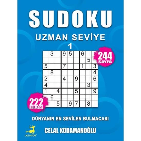 Sudoku Uzman Seviye 1 - Celal Kodamanoğlu