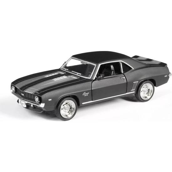 Rmz Citymat 1969 Chevrolet Camaro Ss Çek Bırak Araba Diecast Metal Araba 1:38 Scale