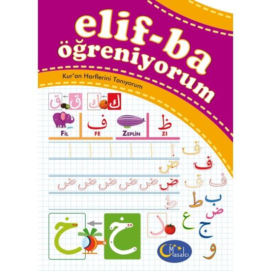 Elif-Ba Öğreniyorum - Kur'an Harflerini Tanıyorum