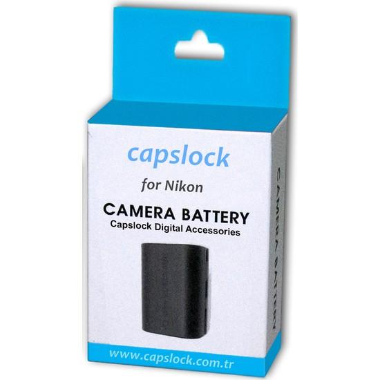 Nikon D5200 Batarya Pil * Capslock En-El14