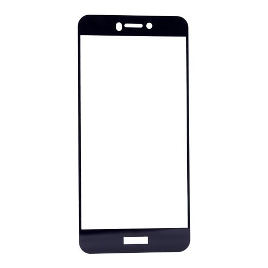 KNY Huawei Ascend P8 Lite 2017 3D Full Renkli Cam Ekran Koruyucu