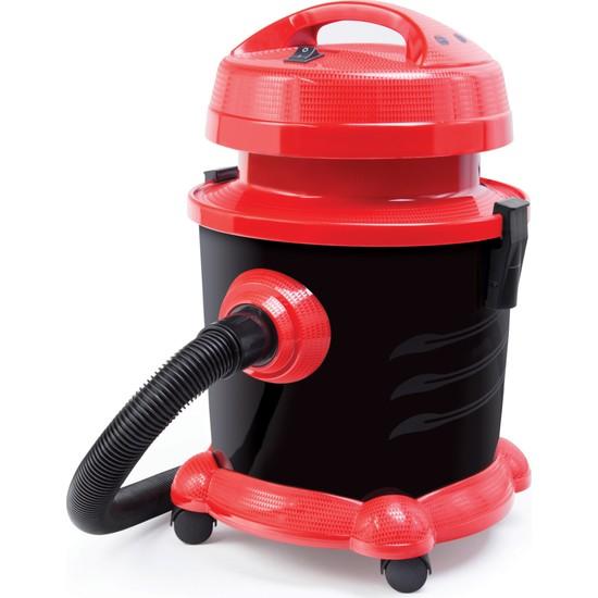 Fantom ECO WD 2700 Islak & Kuru Elektrikli Süpürge – Kırmızı