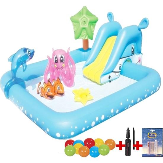 Bestway 53052 Kaydıraklı Fıskiyeli Çocuk Oyun Havuzu