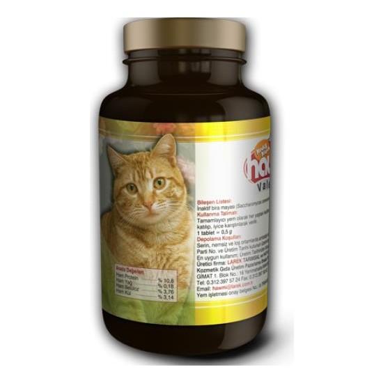 Hawmi Kediler İçin Stress Stop Desteği 120 Tablet