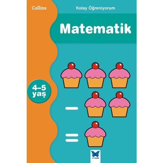 Collins Kolay Öğreniyorum Matematik (4-5 Yaş)