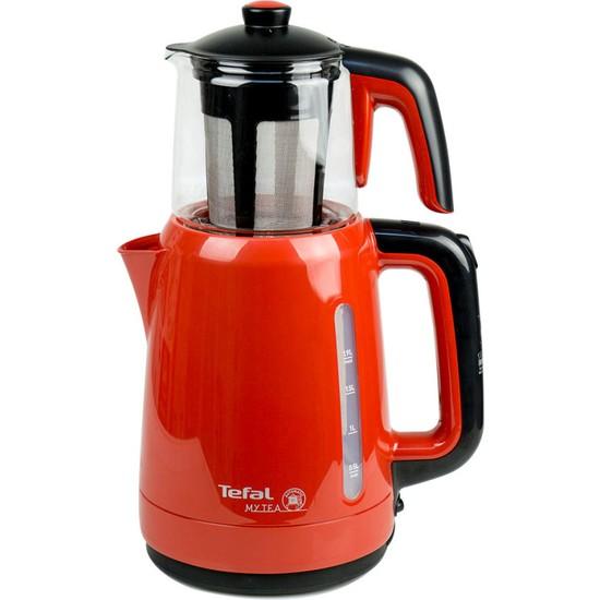 Tefal BJ201541 My Tea Cam Demlikli Çay Makinesi Kırmızı - 1500637711