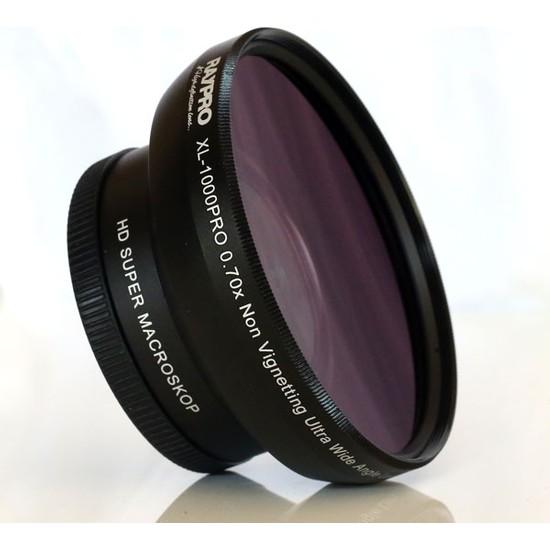 Raypro XL-1000PRO 0.70x Ultra Geniş Açı + HD Super Macroskop Lens