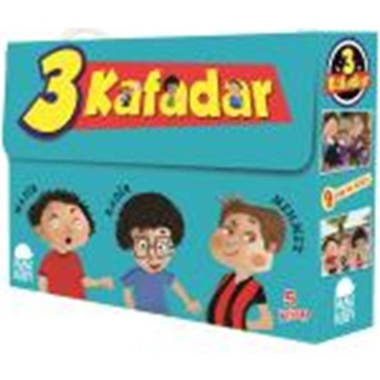 Üç Kafadar Set (5 Kitap) - Yaşar Bayraktar