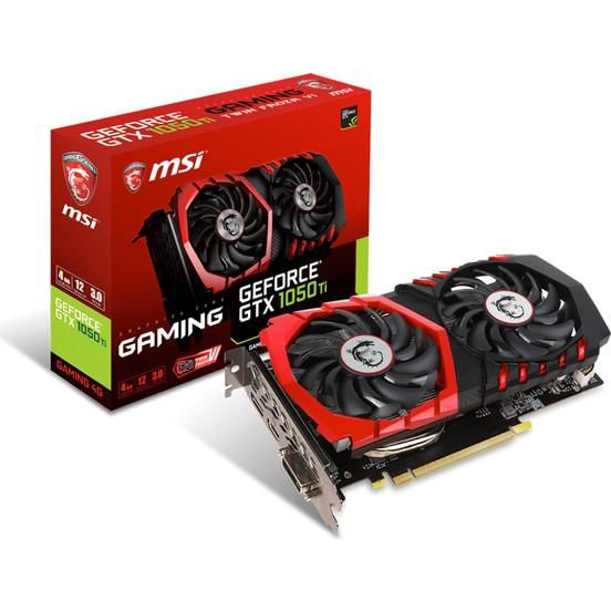 MSI NVIDIA GeForce GTX 1050 TI GAMING 4G 4GB 128 bit GDDR5 DX(12) PCI-E 3.0 Ekran Kartı (GTX 1050 TI GAMING 4G)