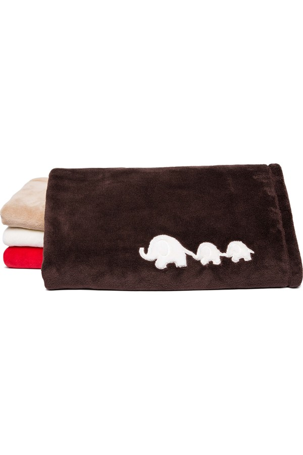 Mollie appliqué Ultra Soft Touch Baby Blankets