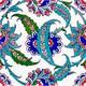 Armada Çini 20X20 Cm Ac 1 Kütahya Cami Çinisi Hançer Desenli Seramik Çini Karo