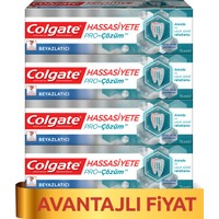 Colgate Hassasiyete Pro Çözüm Beyazlatıcı Diş Macunu 75 ml x 4 Adet