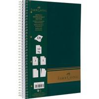Faber-Castell Sert Kapak Sep.3+1 Yeşil Defter, 120 Yaprak