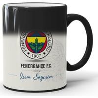 Endigift Fenerbahçe Kişiye Özel Isim Baskılı Sihirli Kupa Bardak