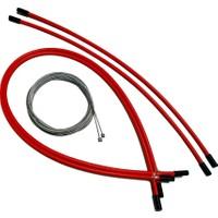 Hsgl Vites Teli ve Dış Kablo Kırmızı Set