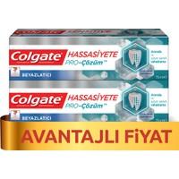 Colgate Hassasiyete Pro Çözüm Beyazlatıcı Diş Macunu 75 ml x 2 Adet